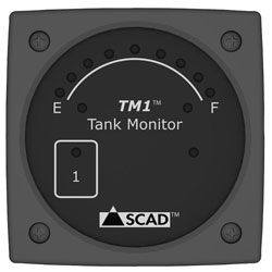 SCAD TM1 Tank Monitor with External Sensor Strip