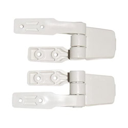 Jabsco Replacement Toilet Seat Hinge Set