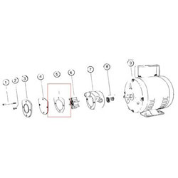 Jabsco Pump Wearplate Gasket