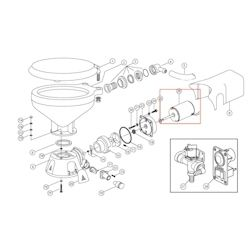 Jabsco Electric Toilet Replacement Motor