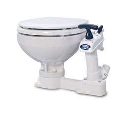 Jabsco Twist 'n' Lock Manual Toilet