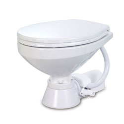 Jabsco Electric Toilet - Household Bowl, Standard Height