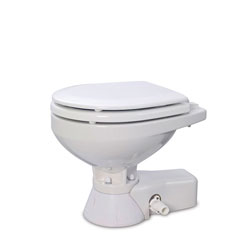Jabsco Quiet-Flush Electric Toilet
