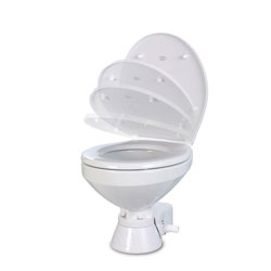 Jabsco Quiet Flush Electric Toilet