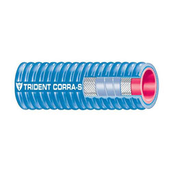 Trident 252V Corrugated Silicone Marine Wet Exhaust & Water Coolant Hose