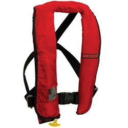 Revere ComfortMax Inflatable PFD / Life Jacket with Harness