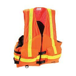 Stearns Work Zone Gear ANSI Commercial / Work Utility Life Jacket / PFD