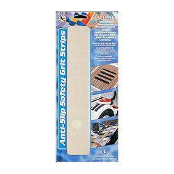 "LifeSafe Anti-Slip Safety Grit Step Strips - 2"" Clear"