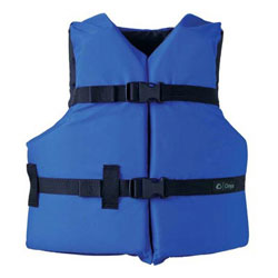 Onyx General Purpose Youth Life Jacket / PFD - Blue / Black