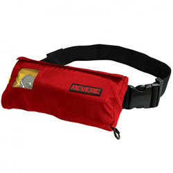 Revere ComfortMax Inflatable Belt Pack PFD / Life Jacket - Red