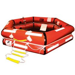 Survitec ShoreMaster IBA Liferaft 6-Person / Canister
