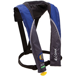 Onyx M-24 In-Sight Manual Inflatable PFD / Life Jacket