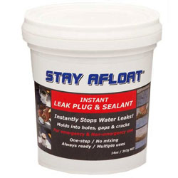 Stay Afloat Emergency Form-A-Plug Leak Sealant