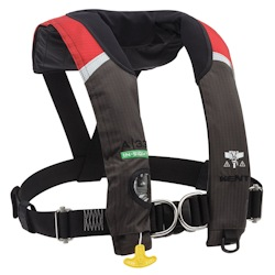 Kent A-33 In-Sight Inflatable PFD / Life Jacket with Harness