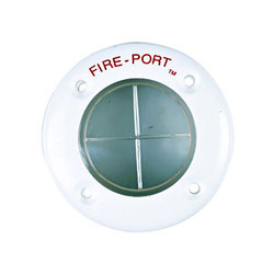 The Marine East 6860 Fire Port - White Ring