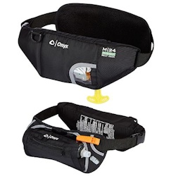 Onyx M-24 In-Sight, Inflatable SUP Belt Pack Life Jacket
