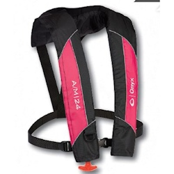 Onyx A/M-24 Automatic / Manual Inflatable PFD / Life Jacket - Pink