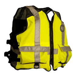 Mustang Industrial Mesh Life Jacket / PFD