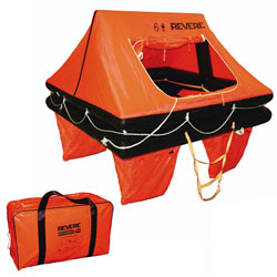 Revere Offshore Commander 2.0 Liferaft 6-Person / Valise