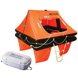 Revere Offshore Commander 2.0 Liferaft 8-Person / Canister