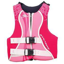 Stearns Youth Hydroprene Life Jacket / PFD - Pink
