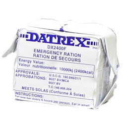 Datrex Emergency 2,400 KCAL Food Bar Rations - 12 Bars