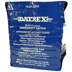 Datrex Emergency 3,600 KCAL Food Bar Rations - 18 Bars