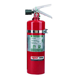 FireBoy - Xintex Portable Halotron Fire Extinguisher - 5 lbs.