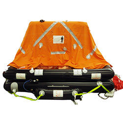 SurvitecZodiac Coastal Liferaft 4-Person / Canister