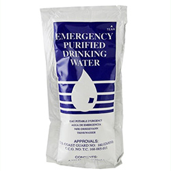 Survitec Emergency Purified Drinking Water