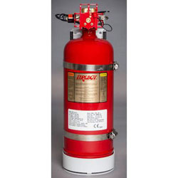 FireBoy - Xintex Manual / Automatic Fire Extinguishing System - 275 Cubic Ft