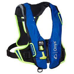 Onyx Impulse A/M-33 All Clear Inflatable Life Jacket