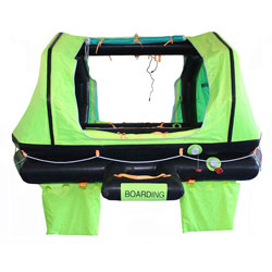 Superior Life-Saving Equipment Wave Breaker Liferaft 4-Person / Hard Case