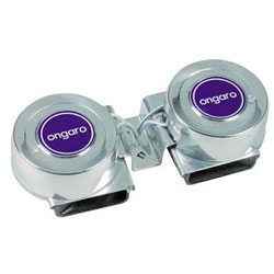 Ongaro Electric Standard Marine Mini Compact Dual Horns - 12 Volt