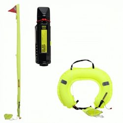 Jonbuoy Inflatable Danbuoy & Horseshoe Combination