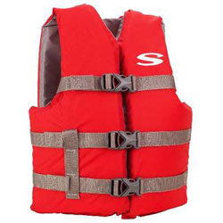 Stearns Youth Boating Life Jacket / PFD - Red