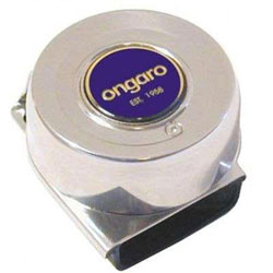 Ongaro Electric  Deluxe Marine Mini Compact Single Horn - 12 Volt