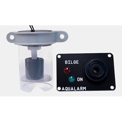 Aqualarm Bilge High Water Alarm with Detector