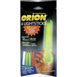 Orion Light Sticks, 4-Pack