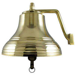 Sea-Dog 8 Inch Brass Ship's Bell