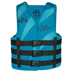 Full Throttle Adult Dual-Sized Rapid-Dry Life Jacket / PFD