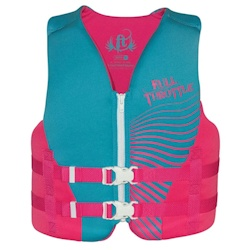 Full Throttle Youth Rapid-Dry Life Jacket / PFD