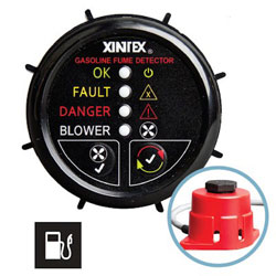 FireBoy - Xintex Gasoline Fume Detector with Blower Control - 1 Channel