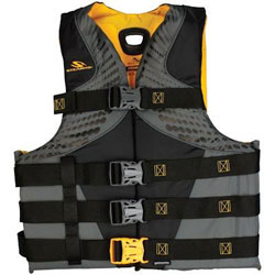 Stearns Men's Infinity Series Gold Rush Life Jacket / PFD - Small / Medium