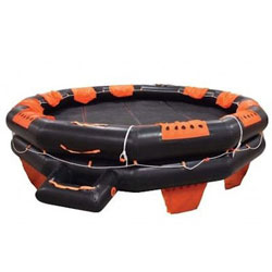 Revere USCG IBA Liferaft  - 10-Person / Round Container