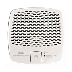Fireboy-Xintex Carbon Monoxide Alarm - Battery Operated - White