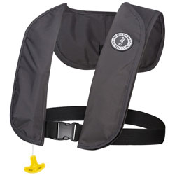 Mustang MIT 70 Inflatable PFD / Life Jacket - Automatic, Admiral Gray
