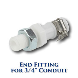 Edson Pull-Pull Conduit End Fitting