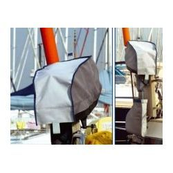 Blue Performance Outboard Motor Cover