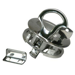 Whitecap 316 SS Flush Locking Slam Latch